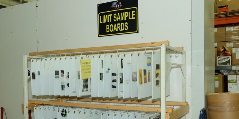 limit sample boards for quality